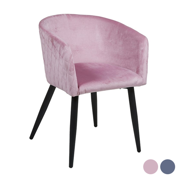 Dining Chair (55 X 57 X 76 Cm) Velvet