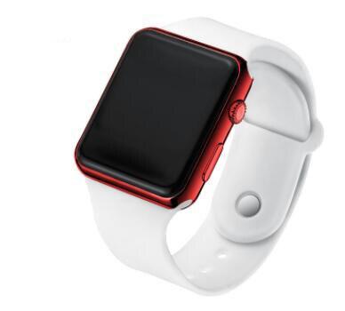 New Stylish Sport LED Watches Women Men Unisex Digital Watch Men Clock Army Military Silicone Wrist Watch Relogio Masculino часы