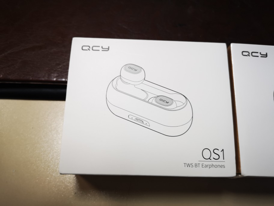 QCY QS1 T1C Mini Dual V5.0 Wireless Headphones Bluetooth Earphones 3D Stereo Sound Earbuds with Dual Microphone and Charging box|Bluetooth Earphones & Headphones|   - AliExpress