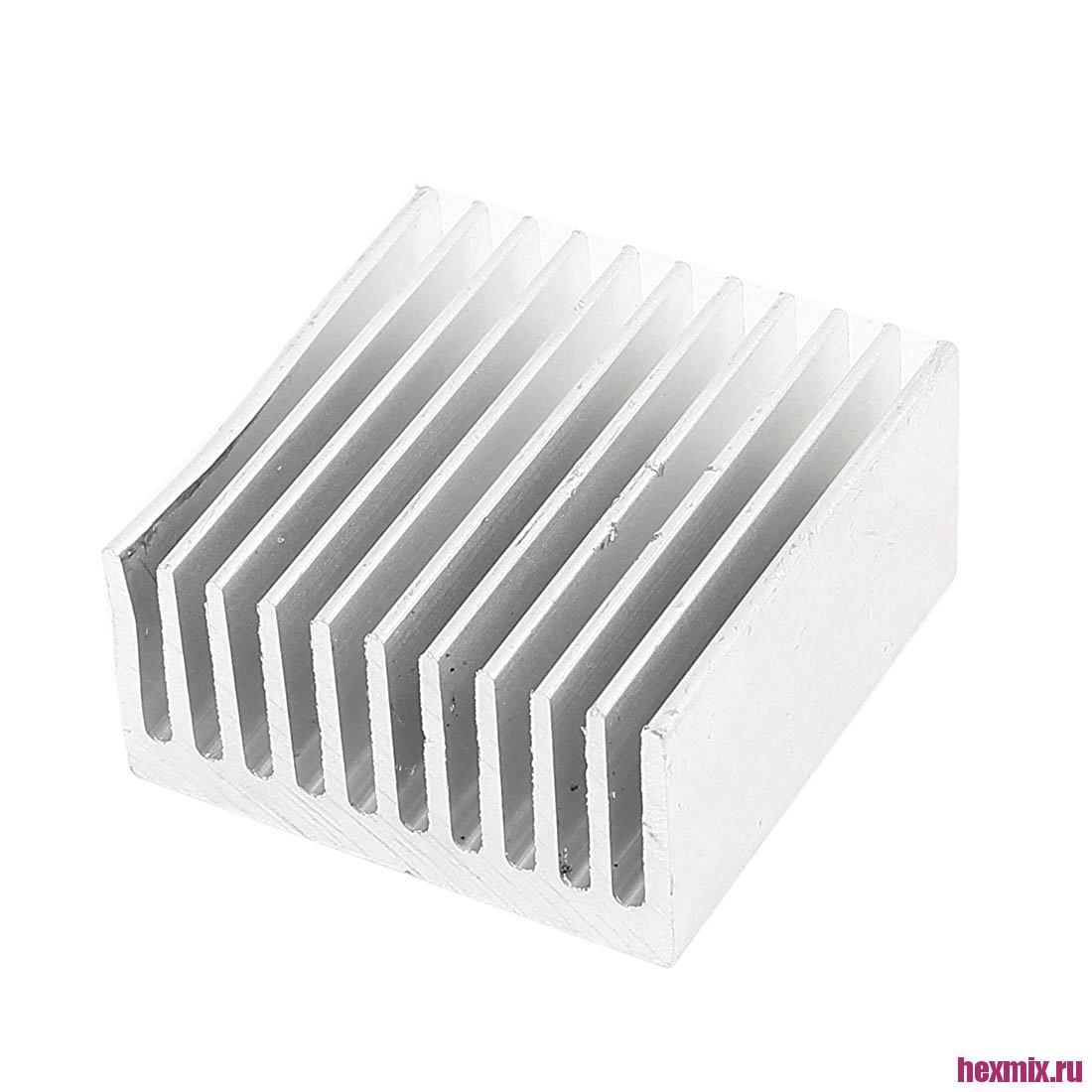 Radiator Aluminum 40x40x20mm