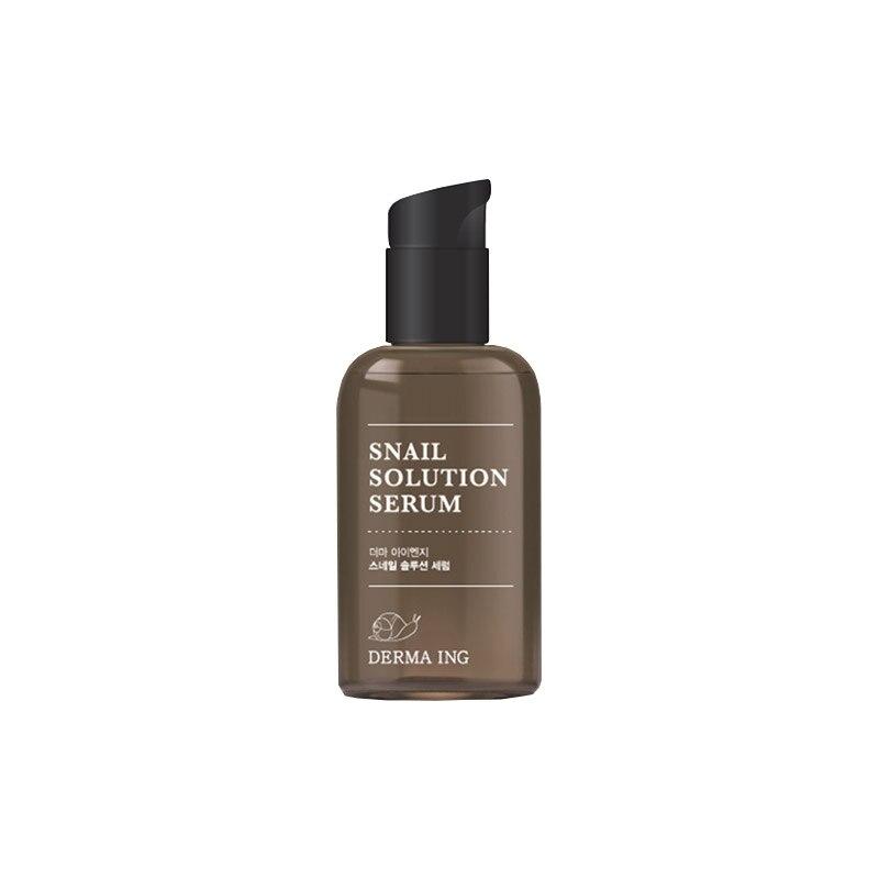 Facial Serum - Jayeon Jiae Snail Solution Serum Moisturizing Brightening Nutrition Toner Emulsion Skin Care Korea Cosmetic