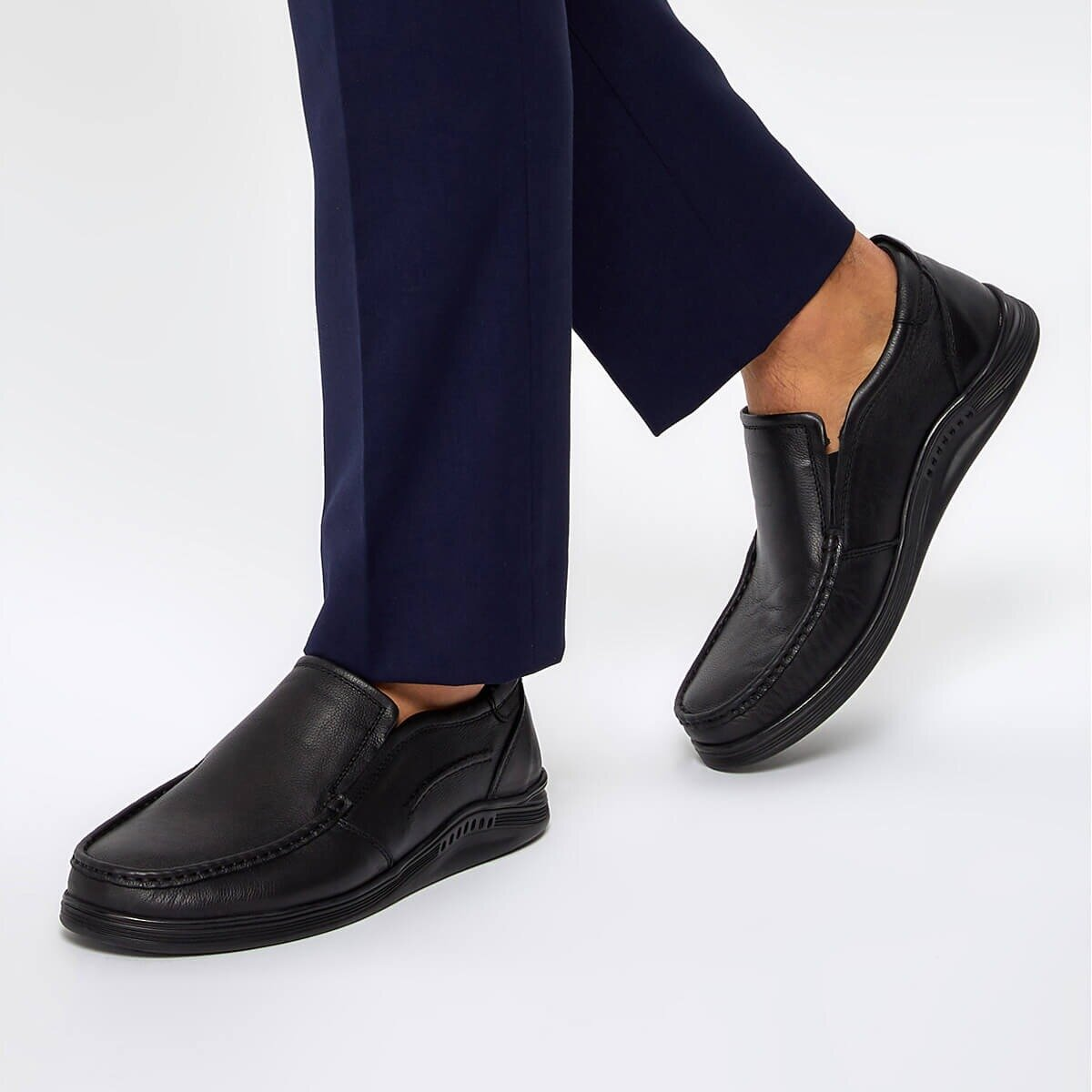 FLO COM-105 Brown Men Shoes Flogart