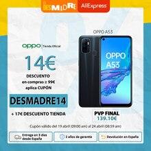 OPPO A53 4GB/64GB, Smartphone, Pantalla Neo-Display 90 Hz, Procesador SDM460, Carga Rápida, Color OS 7.0, 2 Años Garantía