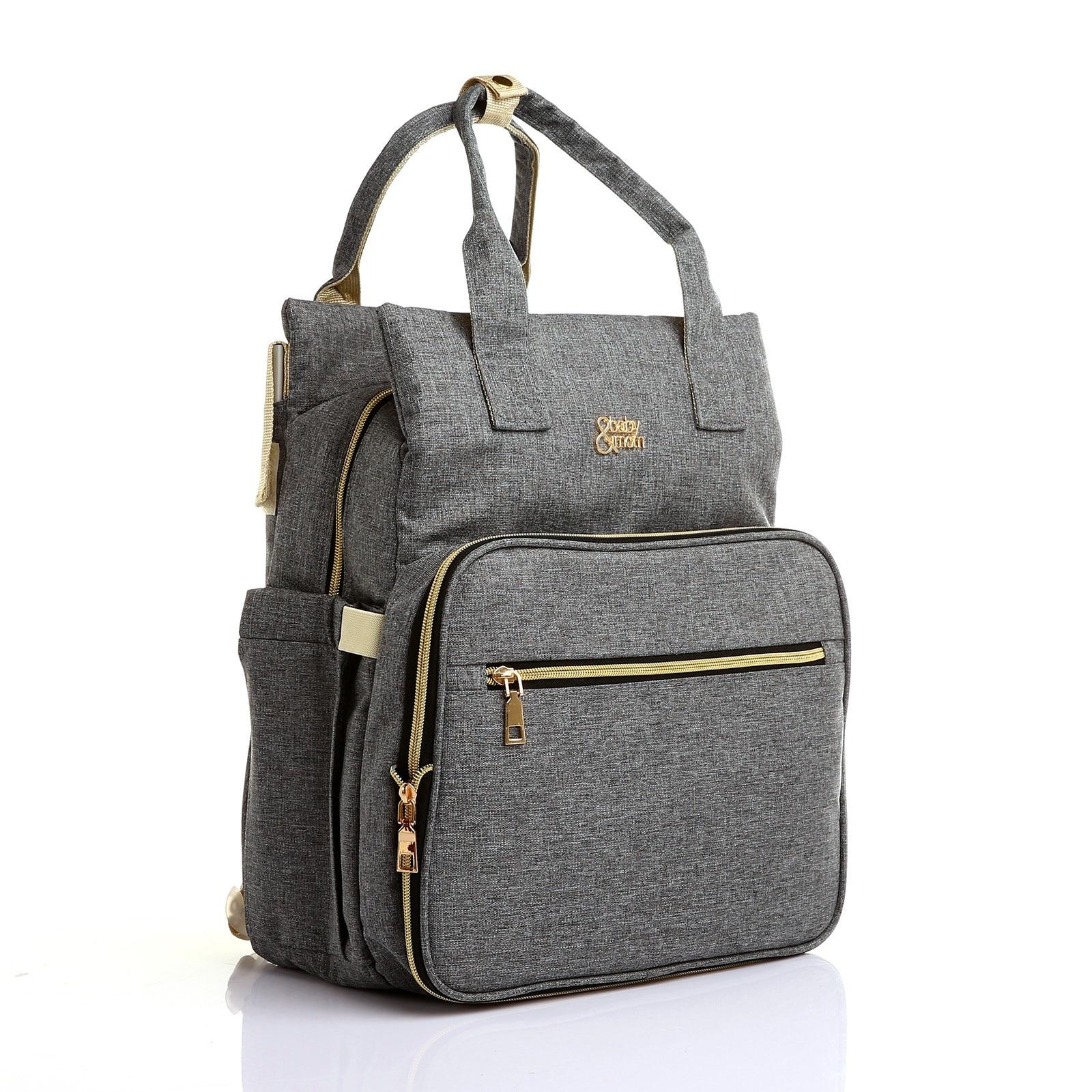 Ebebek Babymom Baby&Mom Multipurpose&Multifunctional Backpack Bag