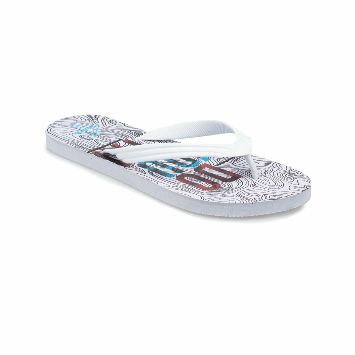 FLO DOYOU White Male Slippers KINETIX