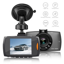 New Car Dash Cam DVR 1080P HD Camera Recorder 2.2 Inch Portable Auto Driving Video With Rotating Holder
