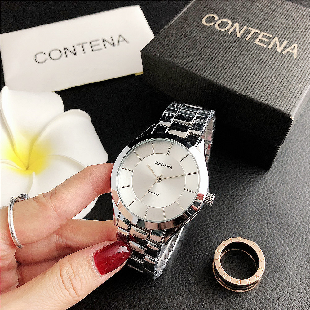 176SF      New Hot Sale Men's And Women's Couple Simple Business With Fashion Watch