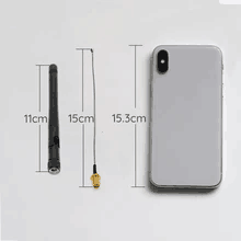 2.4G Wifi Bluetooth External Antenna (Internal Cable Included)