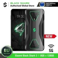 EU Version Xiaomi Black Shark 3 128GB ROM 8GB RAM 5G Gaming phone (Newly Launch Promos) blackshark, blackshark3 Smartphone Mobil