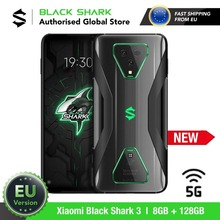 EU Version Xiaomi Black Shark 3 128GB ROM 8GB RAM 5G Gaming phone (Newly Launch Promos) blackshark,