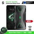 Versión EU Xiaomi Black Shark 3 128GB ROM 8GB RAM 5G (Nuevo / Sellado) black shark, blackshark3, blackshark Teléfono Móvil