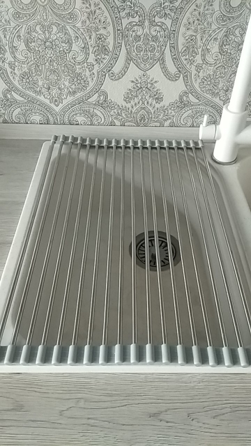 Roll-Up Sink Rack - h2odonut photo review