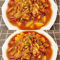 冬季解馋又减肥的番茄土豆肥牛汤的做法图解19