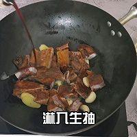 """#美食说出""""新年好""""#步步高升冬笋腊排骨的做法图解13"""