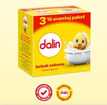 Dalin Baby Soap 3 Pieces 3x100 Gr