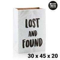 오 마이 홈 중형 종이 봉투 (30x45x20 cm)