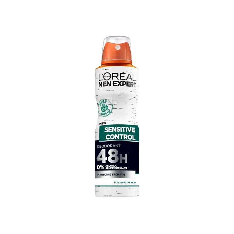 Deodorant Spray Sensitive Checkpoint L'Oreal Make Up (150 Ml)