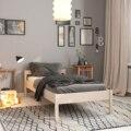 Односпальная деревянная кровать Hansales 90x200 см для здорового и крепкого сна Hansales, мебель для дома, для спальной комнаты