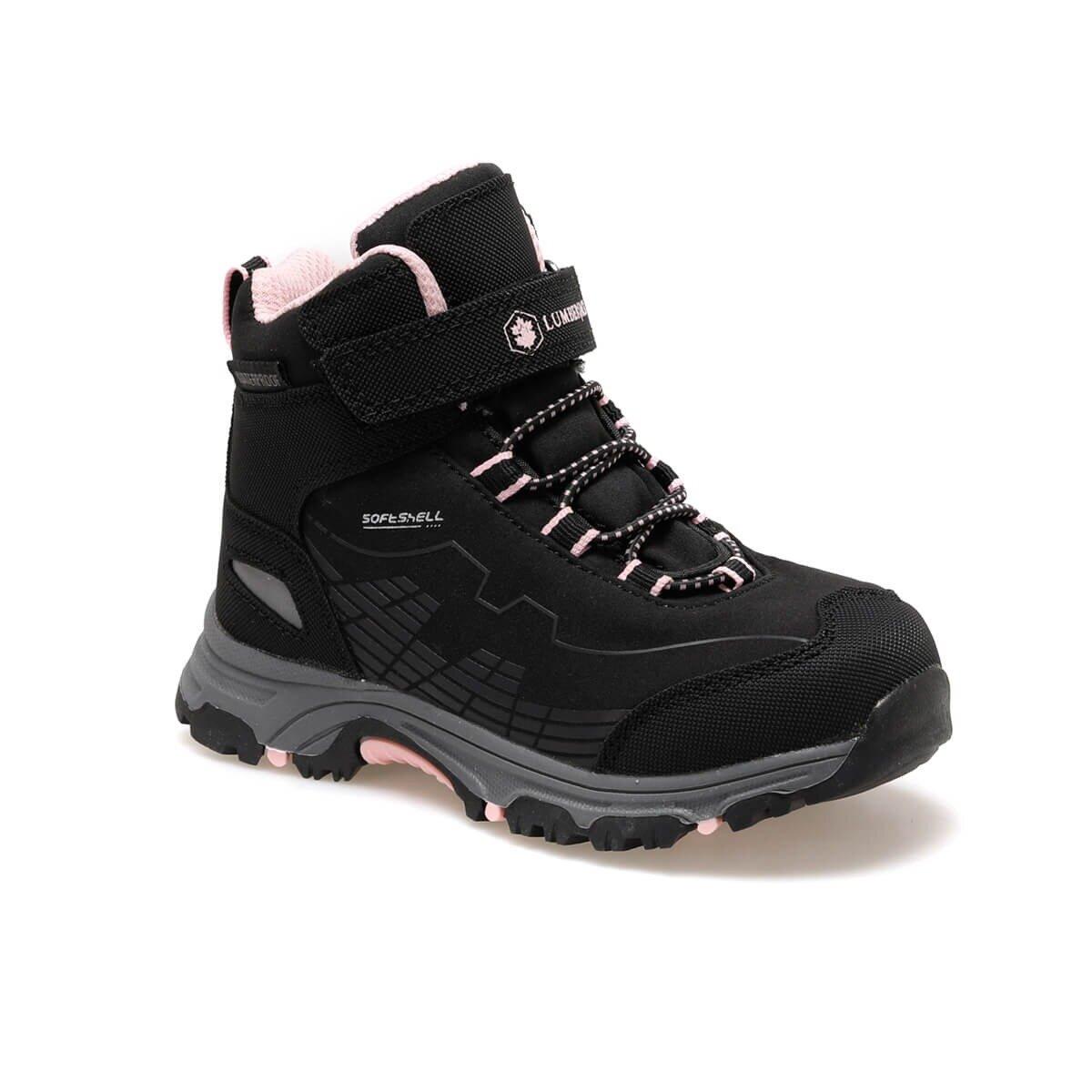 FLO CHAMP HI 9PR Black Girls Child Outdoors Boots LUMBERJACK