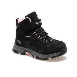 FLO CHAMP HI 9PR Black Girls Child Outdoors Boots LUMBERJACK