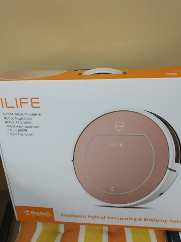 ILIFE A4S Smart Aspirapolvere Lavapavimenti Automatico Vacuum Cleaner Robot IT