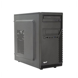 Desktop PC iggual PSIPCH413 i3-8100 8 GB RAM 120 GB SSD Black