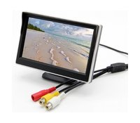 Monitor for rear view camera СХ 501 5 TFT LCD monitor rearview car display car parking system
