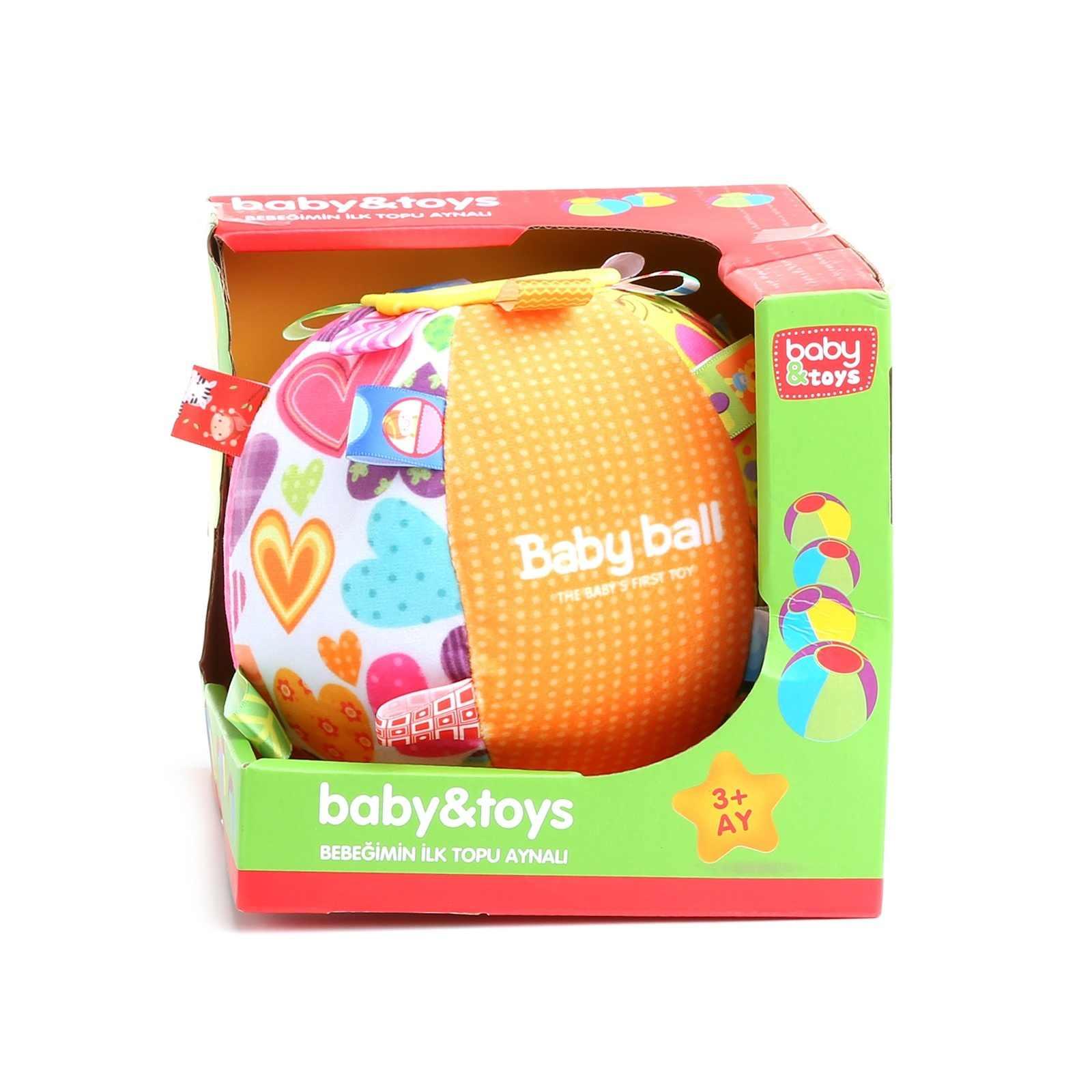 Детские игрушки ebebek, обучающая игрушка с первым мячом для малышей, игрушечное зеркало для укладки кубиков для малышей, игрушки для малышей 13, 24 месяца, игрушки для укладки