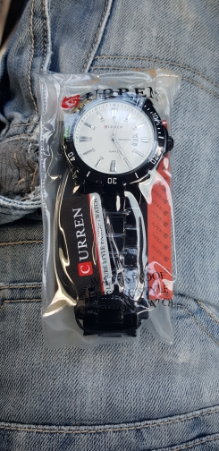 Men Full Steel Watches Quartz Analog Waterproof Army Military photo review