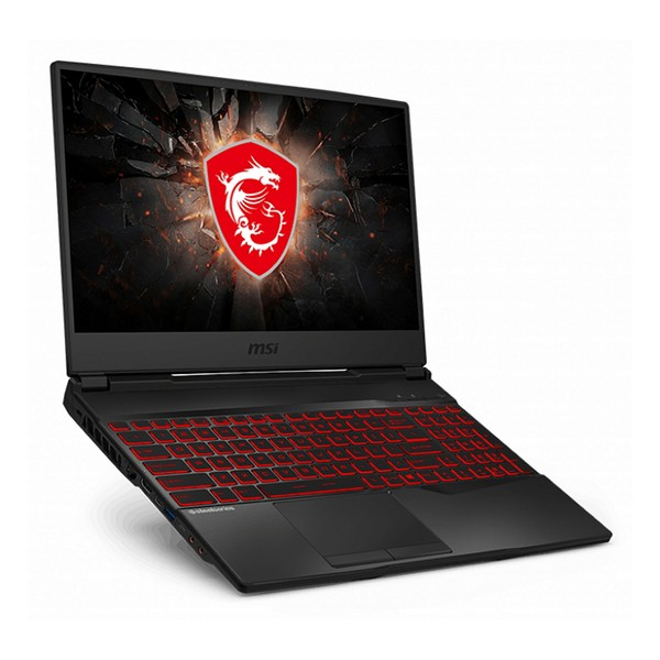 "Gaming Portable Computer MSI GL65-210XES 15"" I7-9750H 16 GB RAM 512 GB SSD Black"