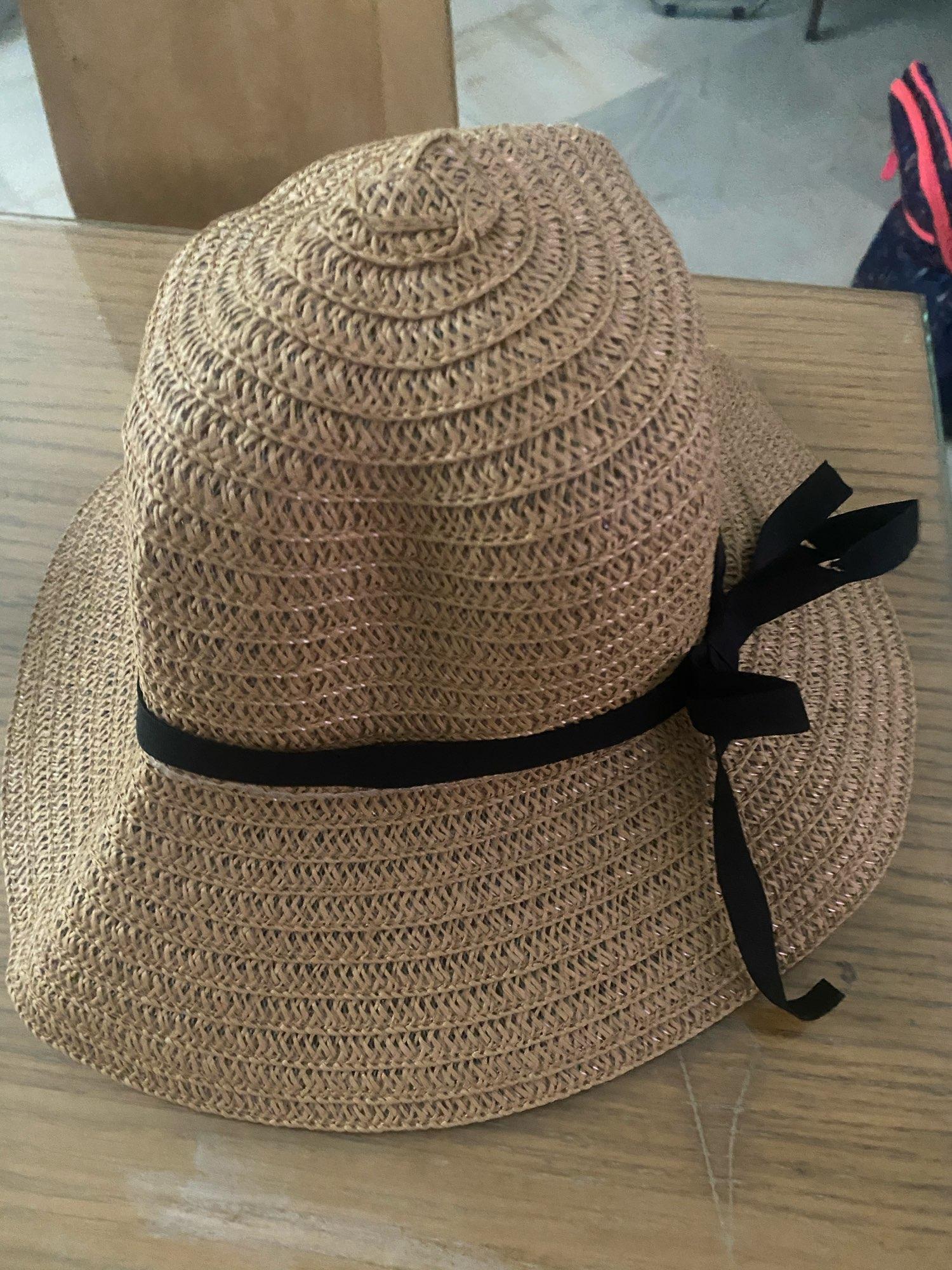 sombrero  de paja tejida para tus playas favoritas envio gratis