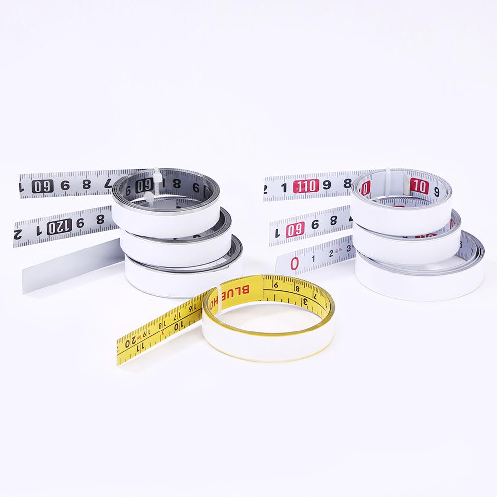 1m Stainless Steel Miter Track Tape Measure Self Adhesive Metric Scale Ruler Rust-Proof Durable And Wear-Resistan Ruler