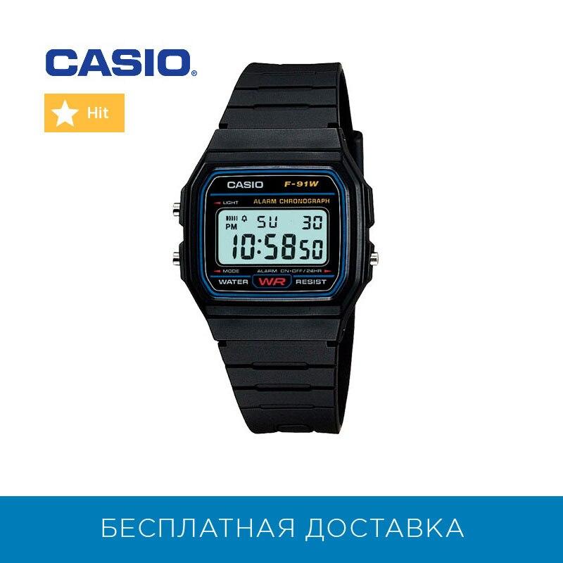 Montres à Quartz Casio pour hommes montres F-91W-1 hommes montre-bracelet montre-bracelet hommes