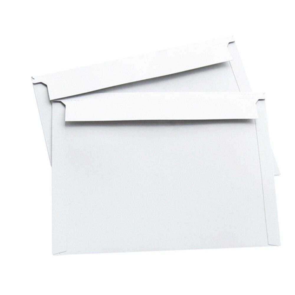 1 Pcs Blank Express Envelope White Without Word Express Envelope Hard Blank Bag Wholesale Packaging File Bag White Envelope