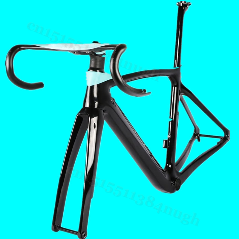 Disk-Disc Brake Axle Toray T1000 Carbon Road Frame XR4 Bicycle Bike Frame+Fork+Seatpost+Handlebars+Clamp 50/53/55/57cm