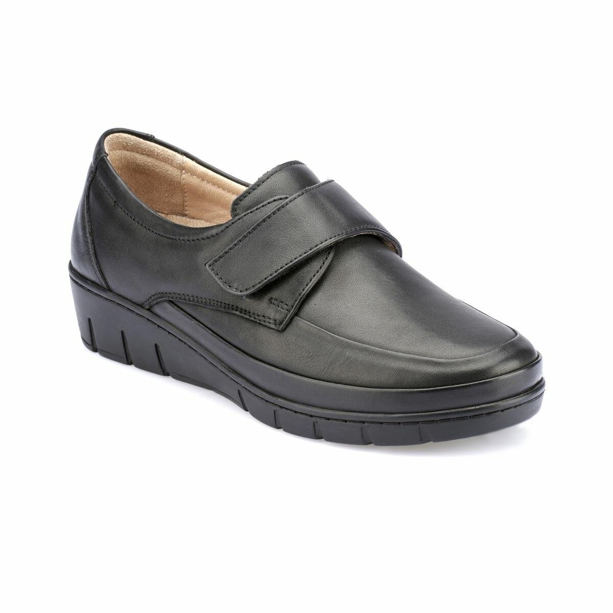 FLO 82.110003.Z Black Women Shoes Polaris 5 Point