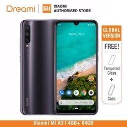 Versão Global Xiaomi mi A3 4 64GB ROM GB RAM (Novos e Selados) mi a3 64gb MAIS RECENTE CHEGADA
