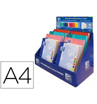 REPLACEMENT COLOR OXFORD + EBOOK1 DIN A4 DISPLAY 37 UNITS ASSORTED MODELS