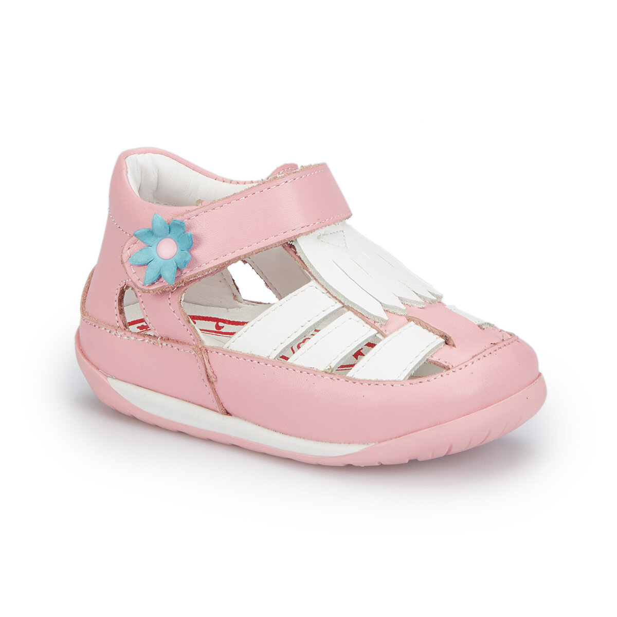 FLO 81.510015.I Pink Female Child Sneaker Shoes Polaris