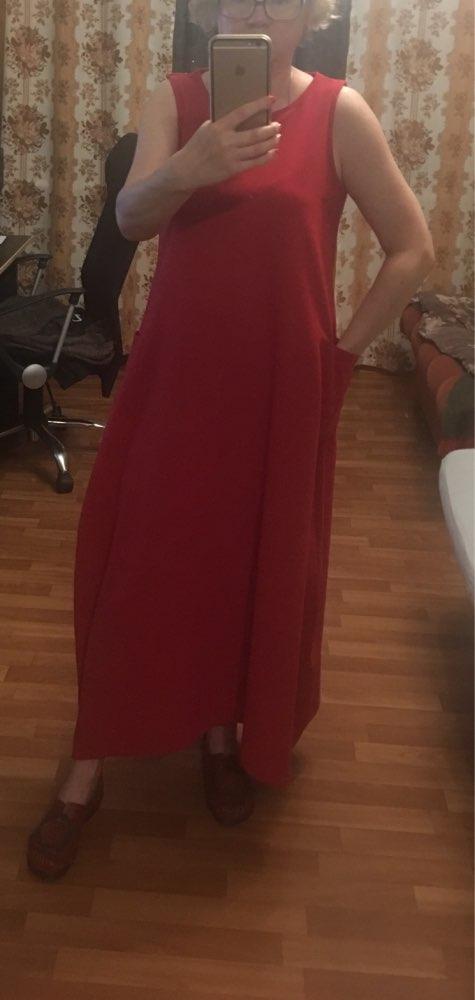 Women 'S Summer Dress Ladies Sleeveless Sarafans Sundress Long Maxi Vestidos Plus Size Robe Femme Beach Party Dresses 5Xl photo review