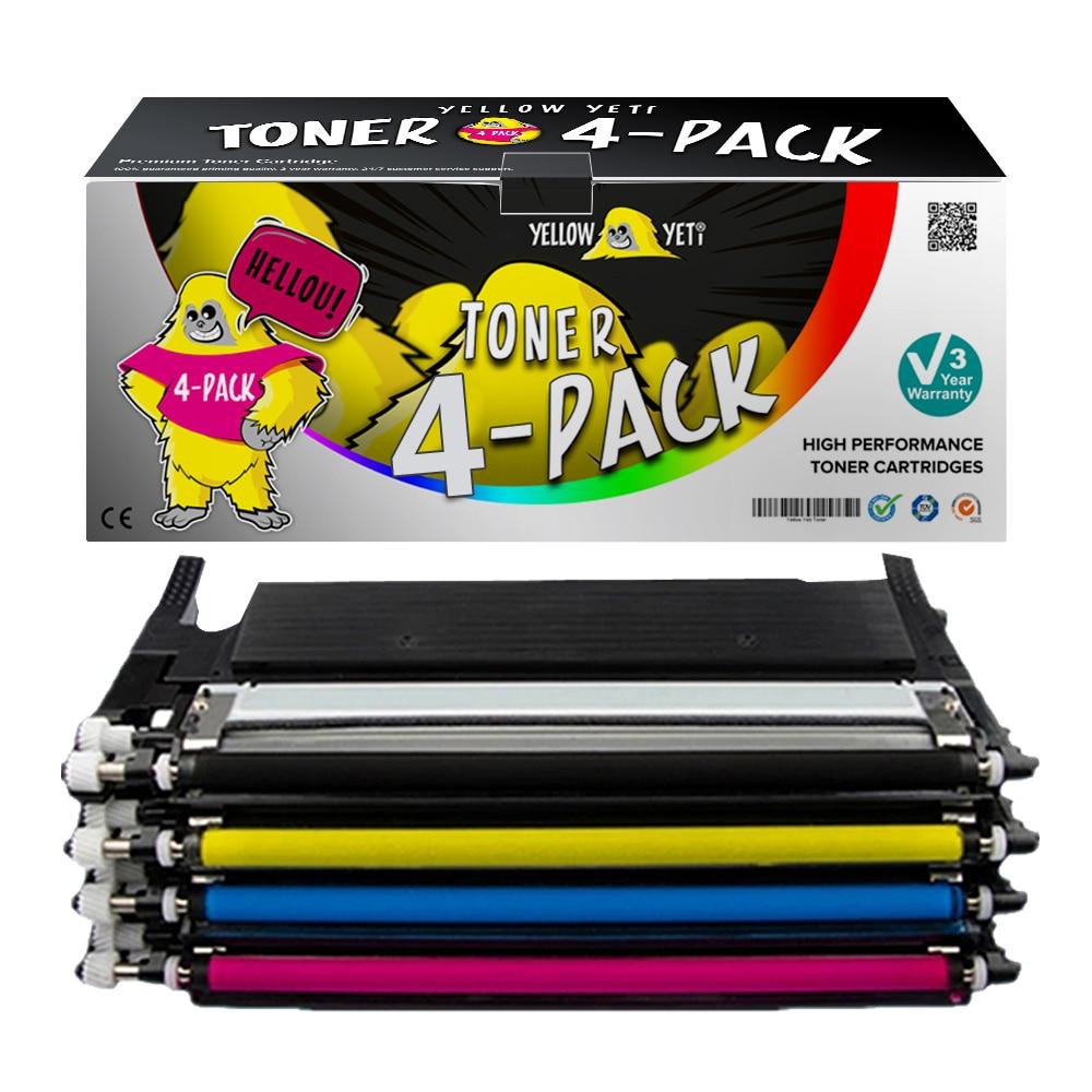 1pcs Colorful CLT-K404S CLT-M404S D404S Clt-404s CLT-Y404S 404S Toner Cartridge For Samsung SL-C430W SL-C480FW SL-C480W Printer