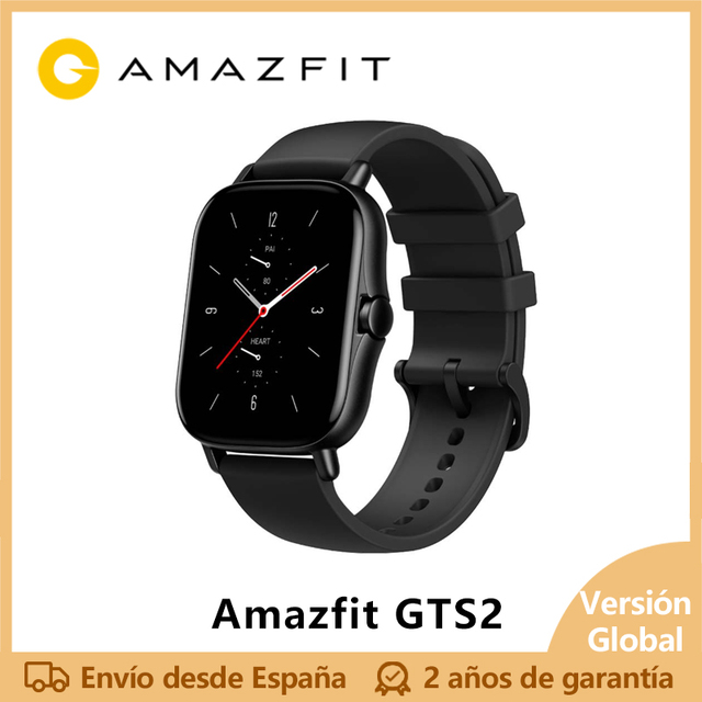 Amazfit GTS 2, smart watch, AMOLED display, music, 5ATM, sleep Control, 12 modes outdoor sport, android IOS smartwatch