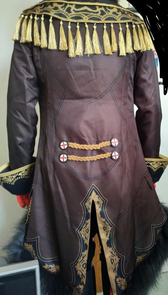 VEVEFHUANG Kосплей Genshin Impact Diluc Cosplay Costume Adult Mens Uniform Outfit Party Game Halloween Xmas Carnival Full Set photo review
