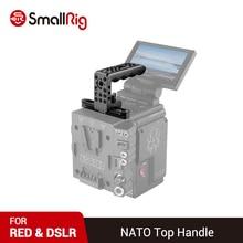 SmallRig QR hızlı bırakma NATO üst kolu kırmızı kameralar Arri yerleştirme delik 1/4 iplik delik 1961