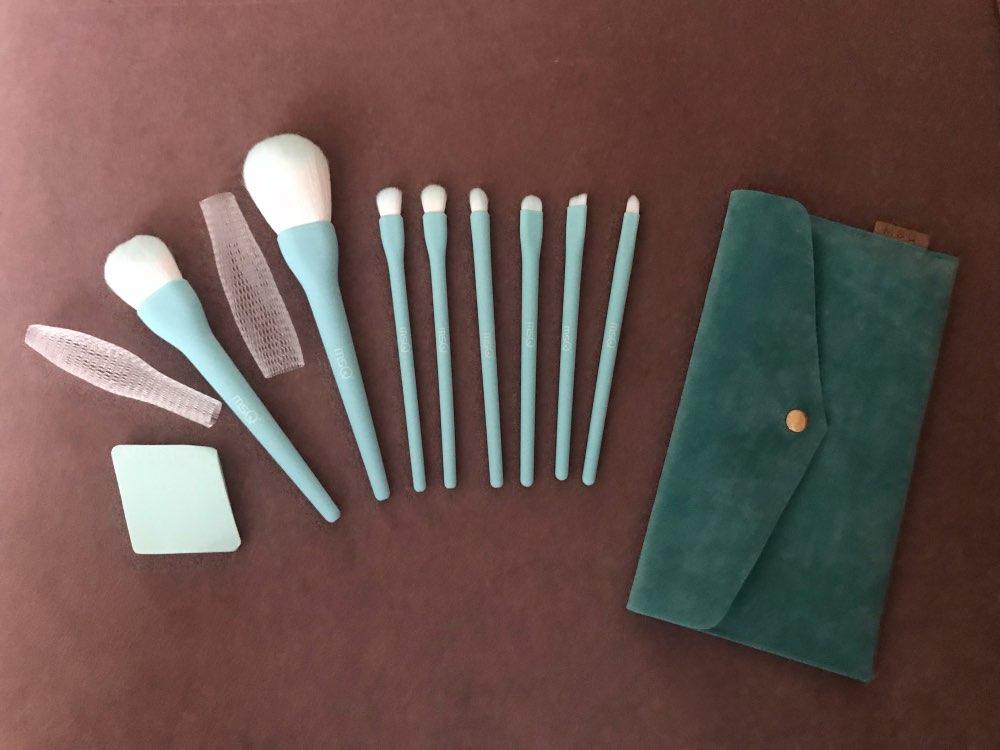 8PCS Makeup Brushes Sets Powder Foundation Blusher Eyeshadow Brush Candy Cosmetic Colorful Make Up NO MSQ LOGO With Bag reviews №1 62053