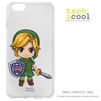 FunnyTech®Stand case for Samsung Galaxy A5 Silicone 2017 Zelda Link fun art