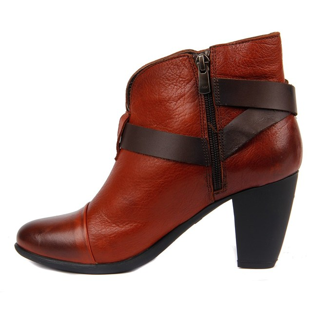 Sail-Lakers Ladies Genuine Leather High-Heeled Boots