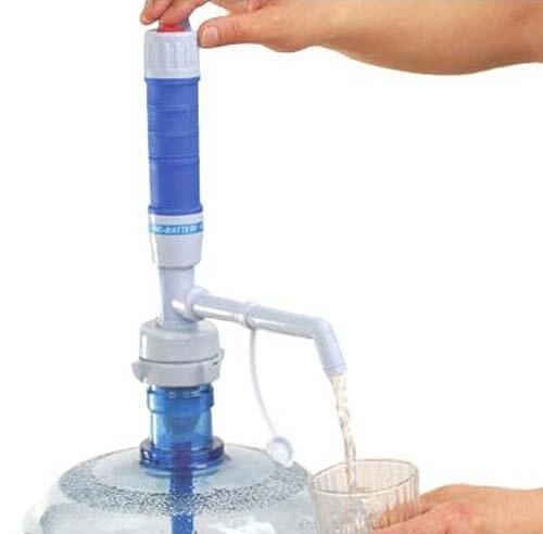 Bomba de agua eléctrica para botella con pilas o bomba de CA