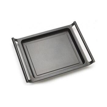 Flat grill plate BRA A271535 35 cm Black