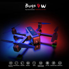 MJX B4W bichos W 4 W 5G GPS sin escobillas plegable Drone WIFI FPV 2K HD Cámara Anti- agitar 1,6 KM 25 minutos flujo óptico RC Quadcopter(China)